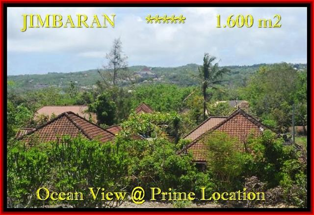 FOR SALE 1.600 m2 LAND IN Jimbaran Ungasan TJJI089