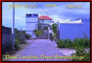 420 m2 LAND FOR SALE IN Jimbaran Ungasan BALI TJJI096