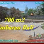 Affordable JIMBARAN 700 m2 LAND FOR SALE TJJI100