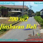 Magnificent PROPERTY JIMBARAN BALI 200 m2 LAND FOR SALE TJJI101