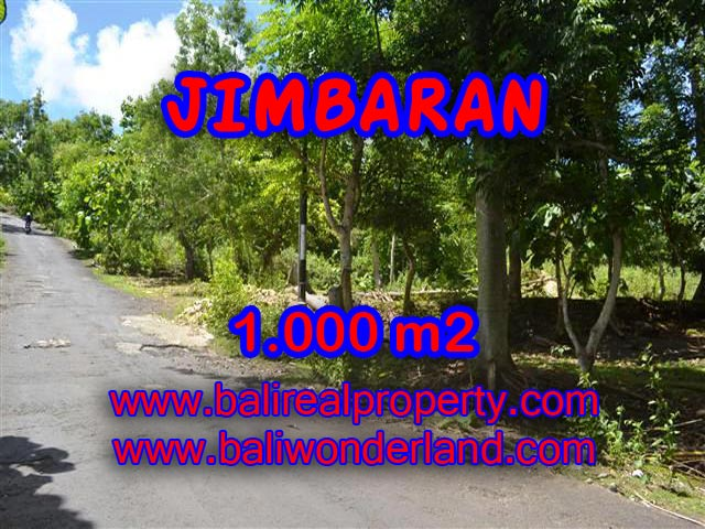 Land for sale in Jimbaran, Stunning view in Jimbaran Ungasan Bali – TJJI070