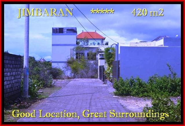 Beautiful PROPERTY 420 m2 LAND FOR SALE IN JIMBARAN TJJI096