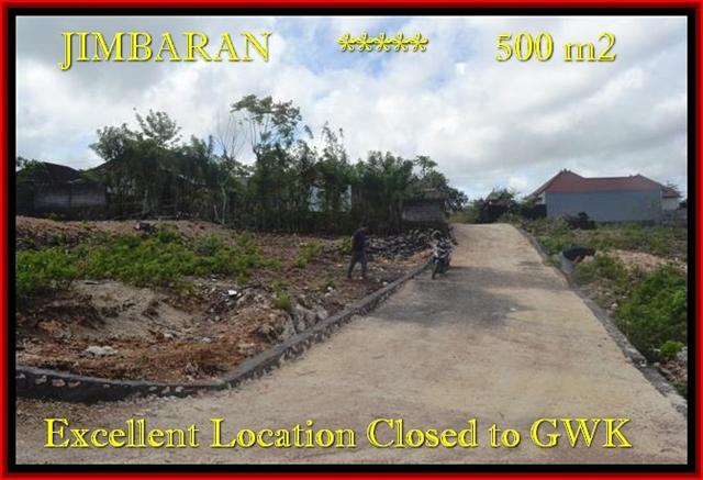 Magnificent PROPERTY 500 m2 LAND FOR SALE IN JIMBARAN TJJI085