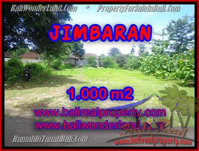 Exotic Jimbaran four seasons BALI 1,000 m2 LAND FOR SALE TJJI063