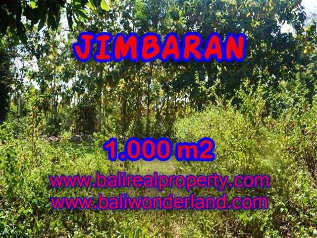 Beautiful PROPERTY JIMBARAN 1,000 m2 LAND FOR SALE TJJI071