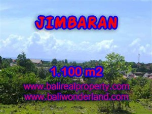 Magnificent PROPERTY JIMBARAN 1,100 m2 LAND FOR SALE TJJI067