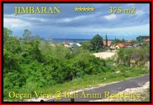 Magnificent 375 m2 LAND SALE IN Jimbaran Uluwatu BALI TJJI095