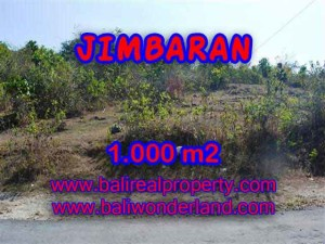 Magnificent LAND IN Jimbaran Ungasan FOR SALE TJJI074