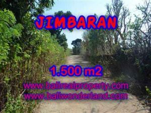 1,500 m2 LAND SALE IN Jimbaran Ungasan BALI TJJI075