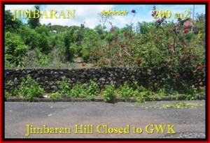 Beautiful Jimbaran Ungasan LAND FOR SALE TJJI086